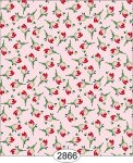 Wallpaper - Cottage Chic - Bud Toss on Pink