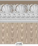 Wallpaper Jolie Shell Brown