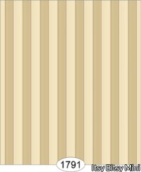Wallpaper - Empress Thin Stripe - Beige