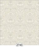 Wallpaper - Annabelle Mini Damask Yellow Ivory