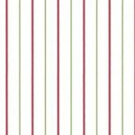 Wallpaper - Roses in Bloom Red Stripe NO BORDER