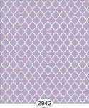 Wallpaper Geometric Trellis Reverse Purple
