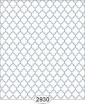 Wallpaper Geometric Trellis Blue