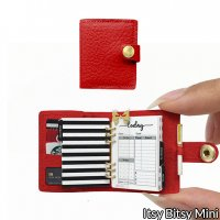 1:6 Miniature Planner - Red Hot