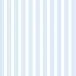 Wallpaper - Clothesline Blue - Stripe NO BORDER