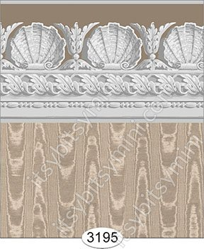 Wallpaper Jolie Shell Brown - Click Image to Close