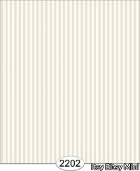 Wallpaper - Tonal Thin Stripe - White