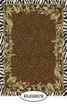 Rug - Tropical - Animal Print - 0676