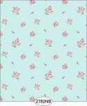 Wallpaper - Daniella Floral Toss - Blue No Border