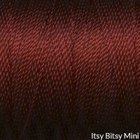 Tiny Twisted Cord - Red Maroon