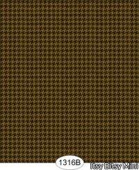 Wallpaper - Houndstooth Brown