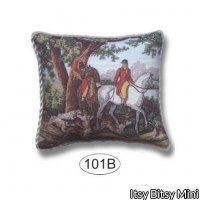 Pillow - Fox Hunt - 2 Hunters