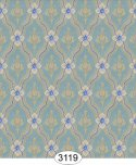 Wallpaper - Royal Tapestry Blue