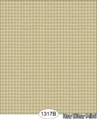 Wallpaper - Houndstooth Creamy Beige