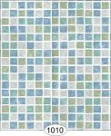 Wallpaper - Mosaic Tile - Blue