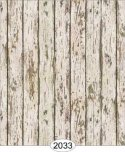 Wallpaper - Distressed Wood - Cream