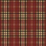 Wallpaper - Bow Wow - Plaid Red NO BORDER