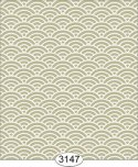 Wallpaper Shell Olive Green