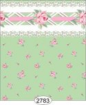 Wallpaper - Daniella Floral Toss - Green