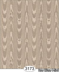 Wallpaper Silk Moire Brown
