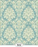Wallpaper - French Damask - Blue