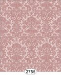 Wallpaper - Annabelle Mini Reverse Damask Red