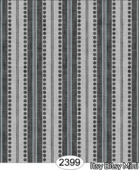 Wallpaper - Annabelle Ribbon Stripe Black