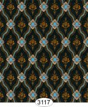 Wallpaper - Royal Tapestry Black