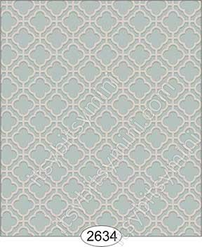 Wallpaper Rose Hill Trellis Blue Aqua - Click Image to Close