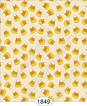 Wallpaper Halloween Candy Corn Wal1849 0 00 Itsy