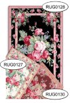 Rug - Floral - 0127 - White
