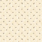 Wallpaper - Country Baskets Black - Dot NO BORDER