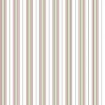 Wallpaper - Victorian Rose Green - Stripe NO BORDER