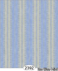 Wallpaper - Annabelle Stripe Blue Serenity on Cream