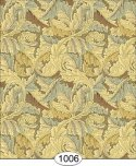Wallpaper - Victorian Leaves - Olive