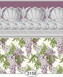 Wallpaper Jolie Wisteria Purple Plum