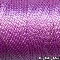 Tiny Twisted Cord - Purple Lilac