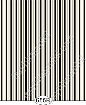 Wallpaper - Distressed Rose Toile Stripe - Black on Off-White - Click Image to Close