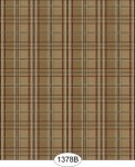 Wallpaper - English Plaid - Burgundy