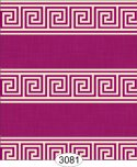Greek Key Purple Plum