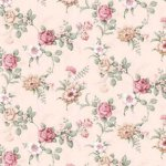Fabric - Simply Rose - Floral - Pink