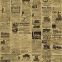 Wallpaper - Vintage Cars Newsprint 2