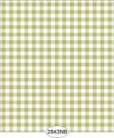 Wallpaper - Daisy Check Green