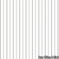 Wallpaper - Gingerbread Stripe Blue with white background