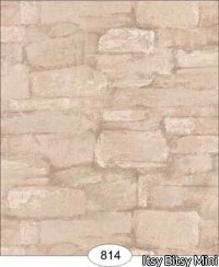 Wallpaper - Flat Stone - Tan