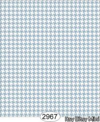 Wallpaper Birch Houndstooth Blue