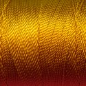 Tiny Twisted Cord - Orange Mustard Gold Dark