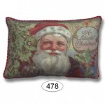 Pillow - Blissful Christmas Santa Claus