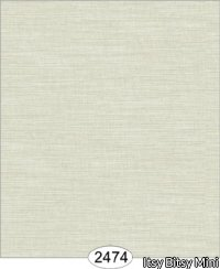 Wallpaper - Cozy Cottage Grasscloth - Grey Light
