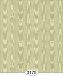 Wallpaper Silk Moire Olive Green